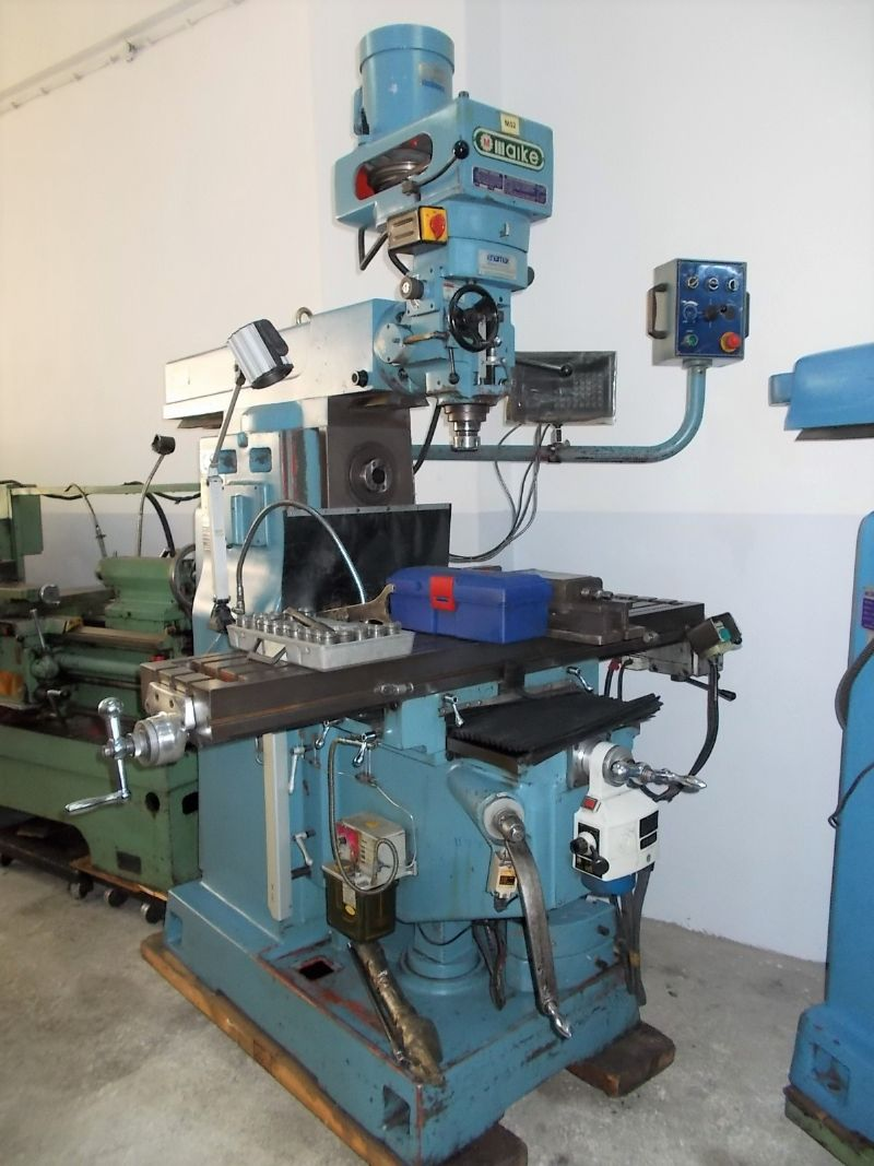 Used Vertical and Horizontal Milling Machine
